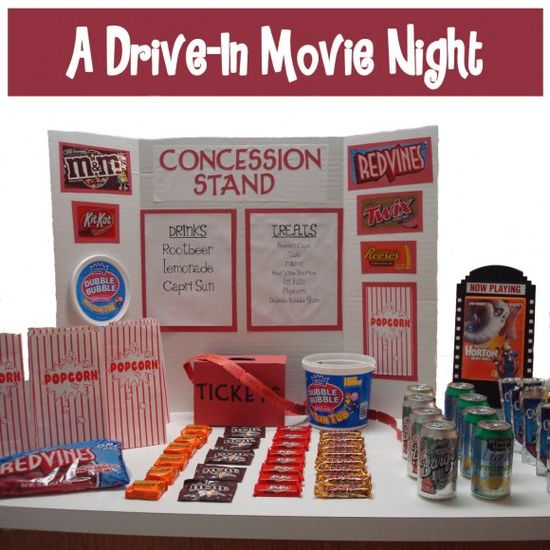 drive in  party