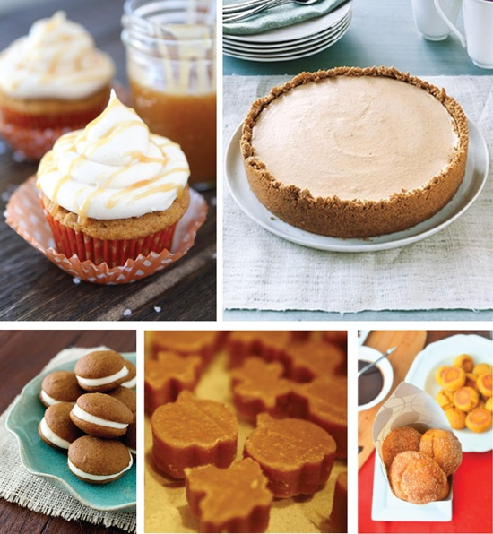 5 Pumpkin Desserts