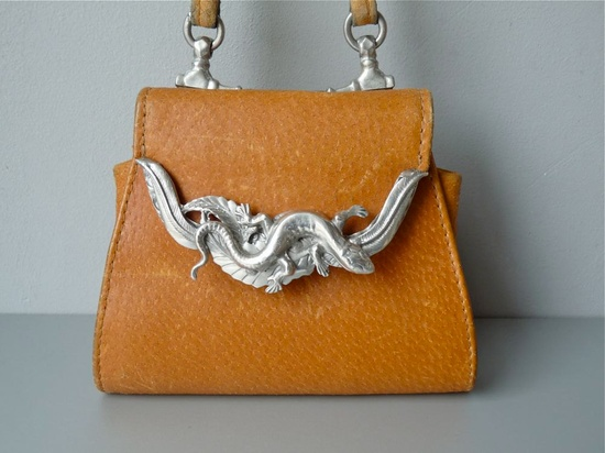 Statement handbag.