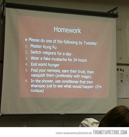 This teacher is hilarious...