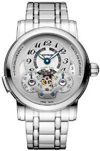 NEW MONTBLANC NICOLAS RIEUSSEC CHRONOGRAPH MENS WATCH 107068