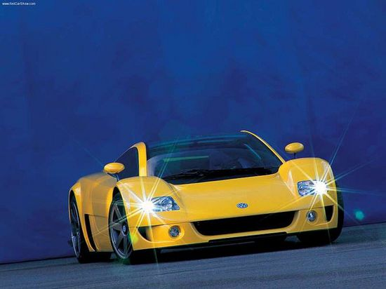 Volkswagen W12 Concept. Ultimate Supercars