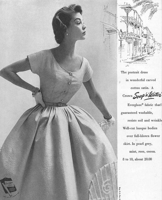April Vogue 1953