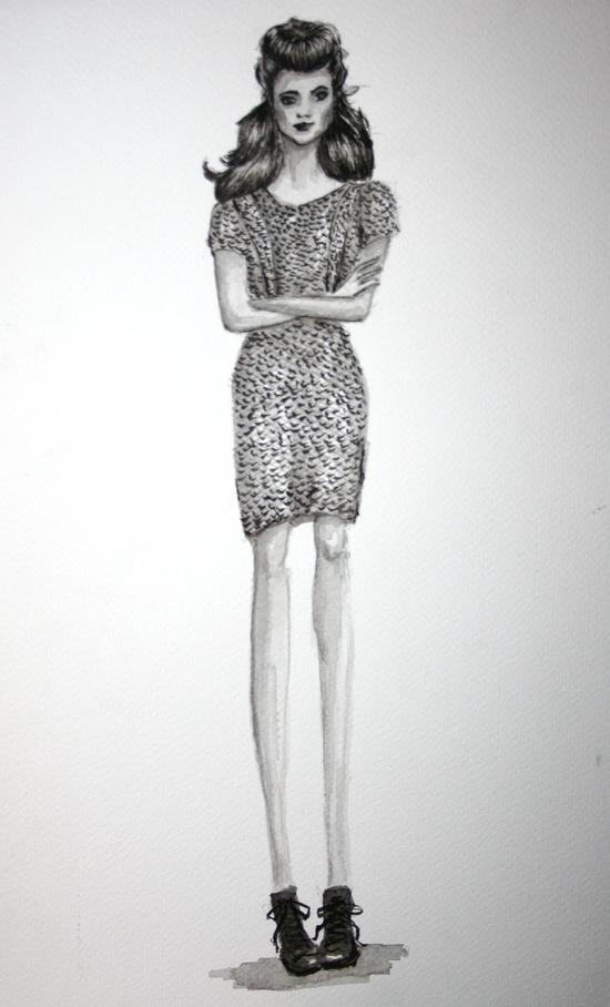 #fashion #illustration #ink