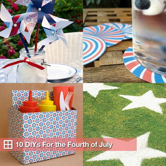 DIY ideas for fourth of july....