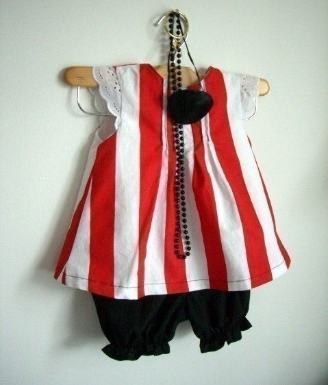 This would be perfect for a pirate party with a little added glam.