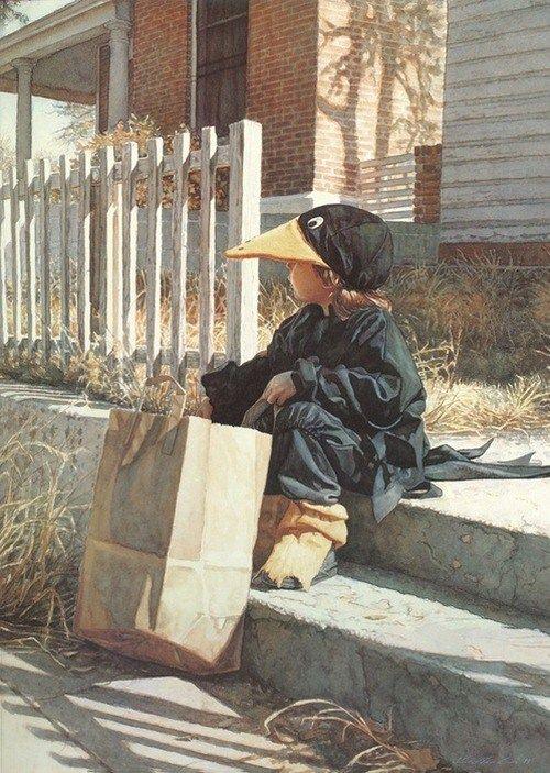 Mind Blowing Watercolor Paintings By Steve Hanks - Frunkey.com