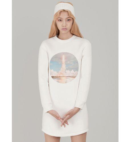 Spaceship Print Dress by Cres. E Dim. via The Cools