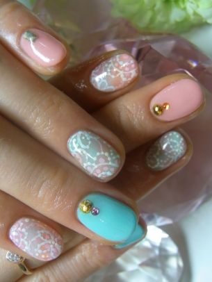 New Girly Nail Art Ideas