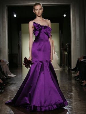 Elegant Royal Purple Wedding Dress - casualweddingdres...