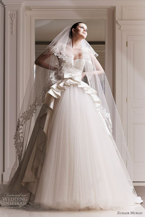 zuhair murad 2012 wedding dresses