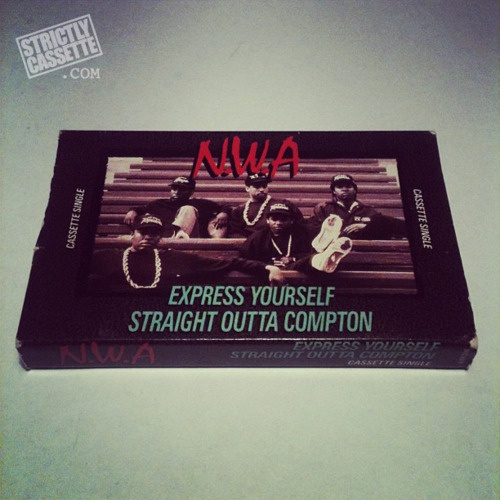 NWA - Express yourself/Straight Outta Compton