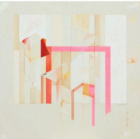 albert ruiz villar - pink tape, paper, paint ?
