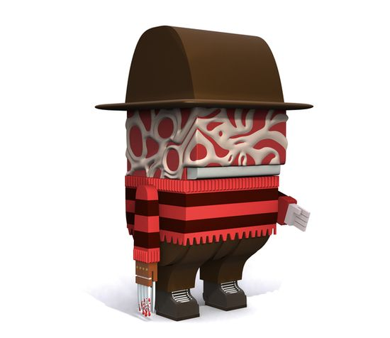 3D Characters, collectibles Toys and others... by Ojofrito , via Behance