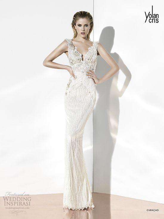 curacao glint couture yolan cris 2014 wedding dresses