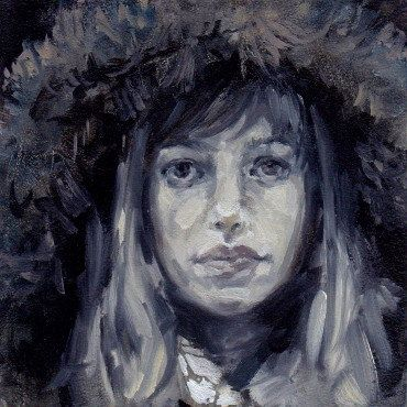 Digital Print of Original Oil Painting Lavinia in by theahofnormal, $5.00