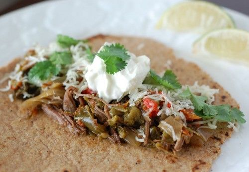 Recipe: Slow Cooker Flank Steak Fajitas - 100 Days of Real Food