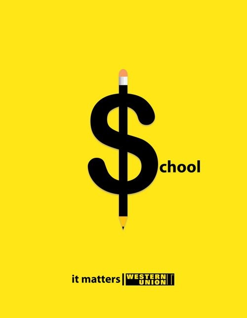 It matters. Western Union Ads