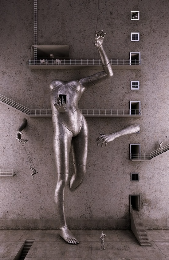 3D Art by Adam Martinakis