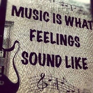 Music always makes me feel better