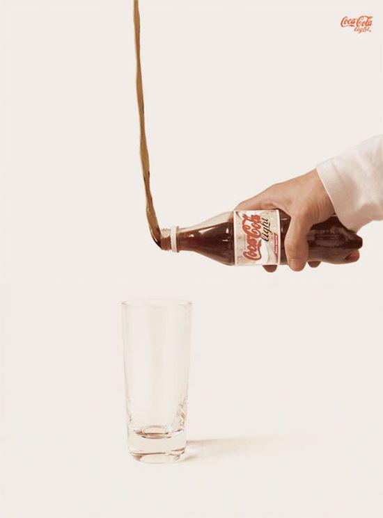 Funny Coca Cola light ads