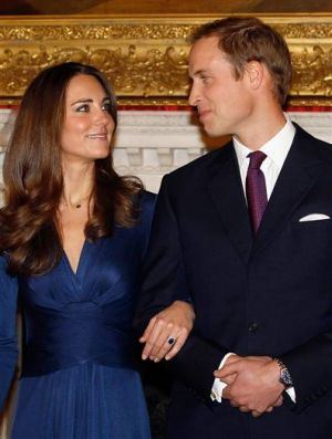 Photo of Kate Middleton style - Prince William and Kate Middleton engagement.jpg