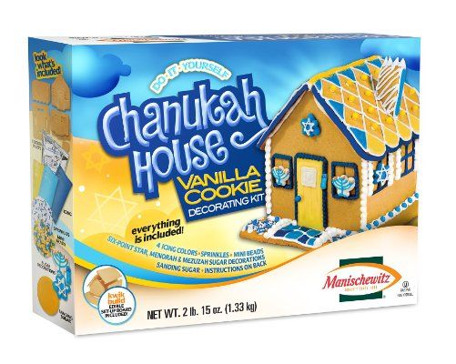 Manischewitz Do-It-Yourself Chanukah House Vanilla Cookie Decorating Kit:Amazon:Grocery & Gourmet Food