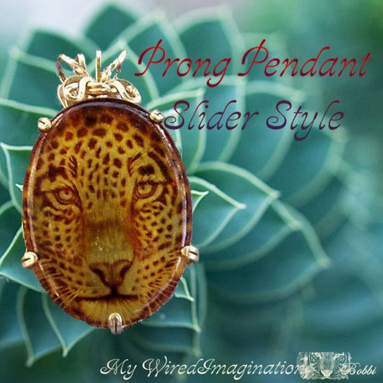 Wire Jewelry Tutorial - Prong Pendant Slider Style - Instant Downloadable PDF File
