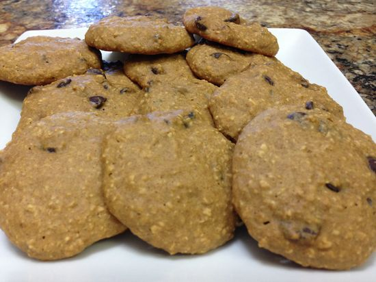 Healthy Chocolate Chip Cookies – HASfit Healthy Dessert Recipes – Healthy Cookie Recipes – Gluten Free Cookies