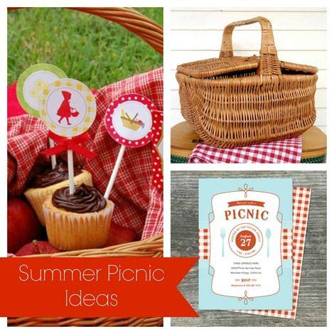 Summer Picnic Inspiration on Etsy