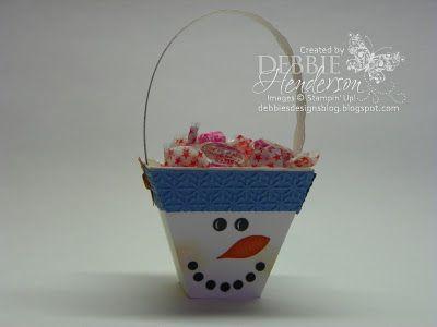cute treat holder using petal cone die