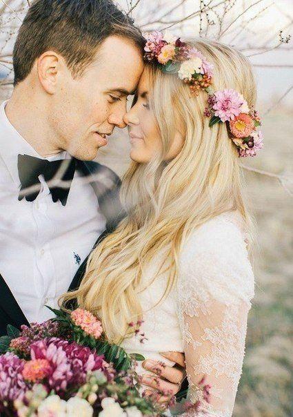 Flower arrangement for a wedding