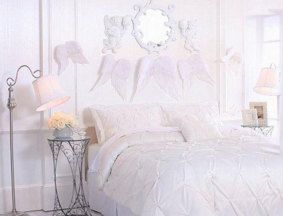 Angelic Bedroom Decorating Ideas