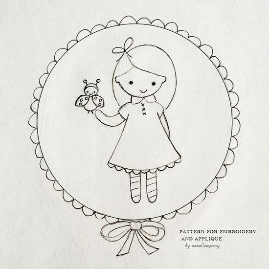 lovely embroidery pattern