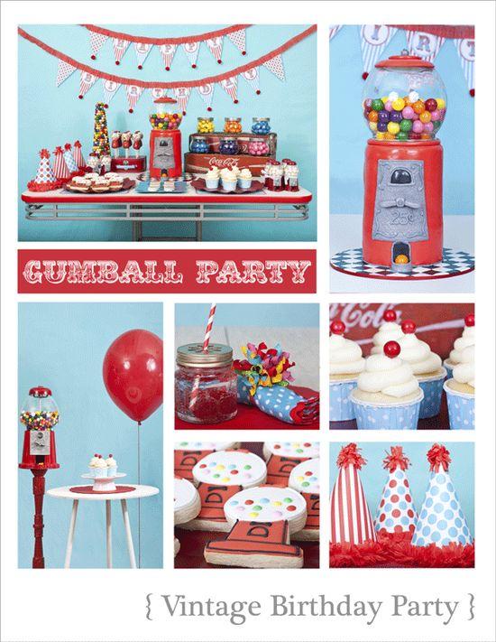Bubble Gum Party on Kara's Party Ideas