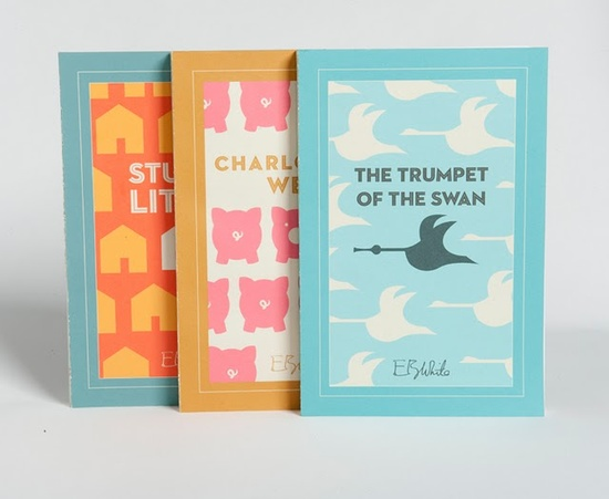 Oh, if only these book covers were real!  Such cute design!