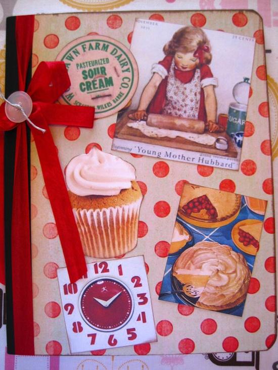 sweet recipe cookbook/journal
