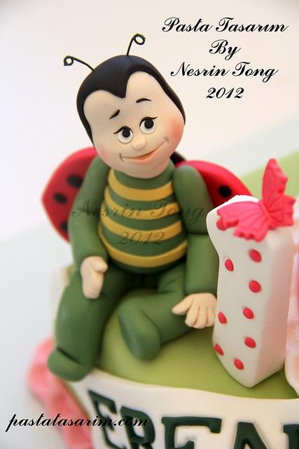 BIRTHDAY CAKE - DEFNE & EREN by CAKE BY NESR?N TONG, via Flickr