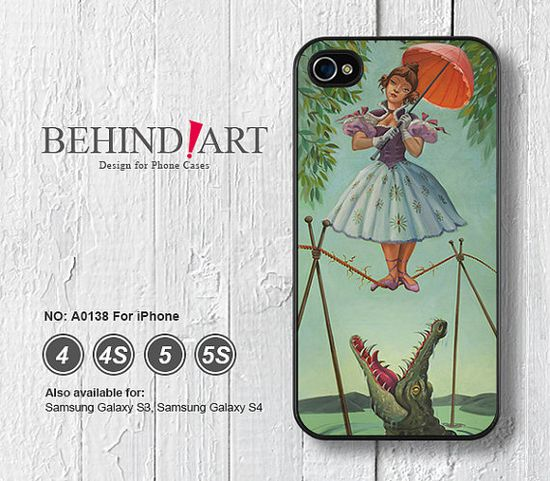 Phone Cases iPhone 5 case iPhone 5C Case iPhone 5S case iPhone 4 Case iPhone 4S Case Phone Covers Haunted Mansion Stretching-A0138