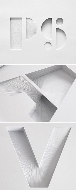 Beautiful layered paper sculptures by Bianca Chang.