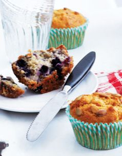 Blueberry muffins from a Brooklyn bakery .
