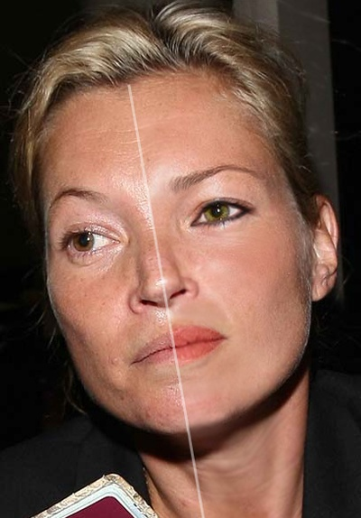Kate Moss photoshop