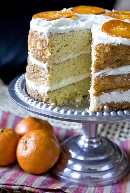Orange Tres Leches Cake