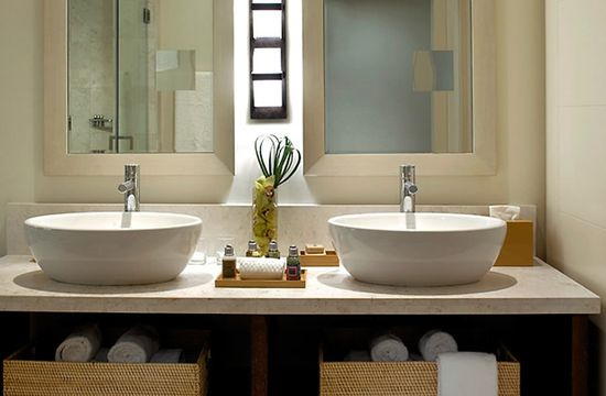 Modern Boutique Hotel Interior Design of Epic Hotel Miami, Florida Bathroom