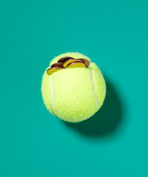 Did you know you can turn tennis balls in to small hand weights?
