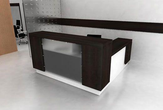 modern front desk area