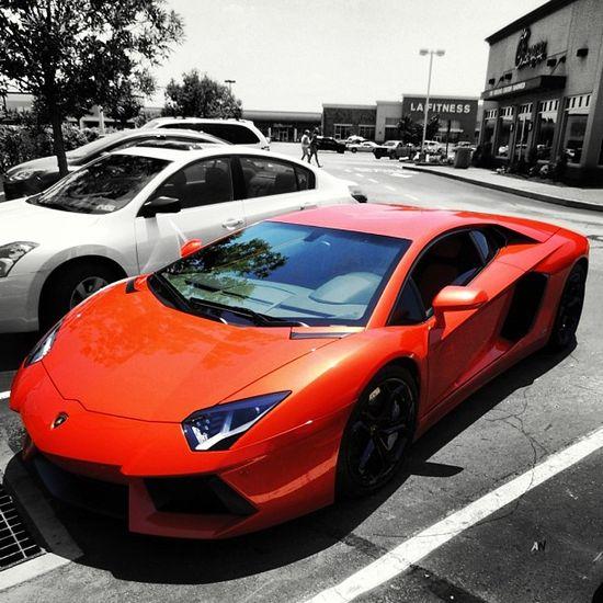 Sweet Lamborghini Aventador