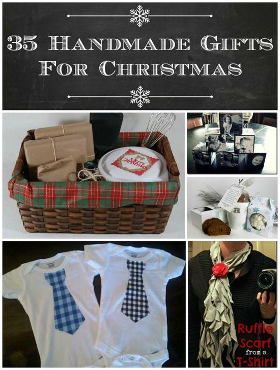 35 Handmade Gifts For Christmas