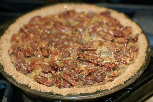 better for you chocolate pecan pie