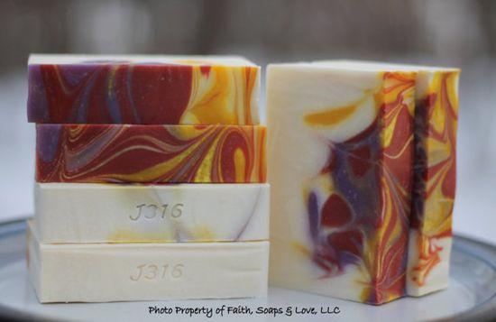 Cherry Blossom Handmade Cold Process Soap - Homemade Soap